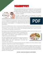 Articulo La Diabetes