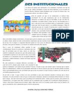 Articulo de Educacion Actividades Escolares