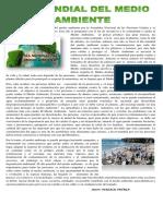 Articulos de La Seccion Del Medio Ambiente