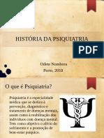 História Da Psiquiatria