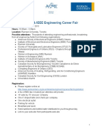 ASME & IEEE Engineering Career Fair - Information Package v11