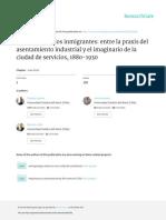 Antofagasta y los inmigrantes