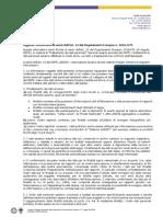 Nuova Informativa Unificata GDPR Def