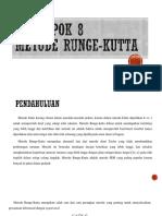 Metode Runge Kutta