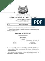 Companies (Amendment) Act 2017