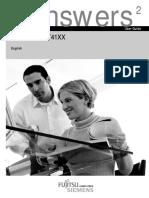 Fujitsu Stylistic ST4120 Manual