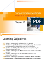 Nonparametric Methods Analysis of Ranked Data