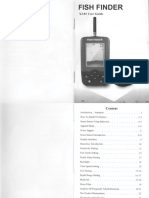 Fish Finder XJ-01 User Guide