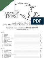 1.BELLA Y BESTIA Orq.complert OBERTURA 1 - Partitura Completa