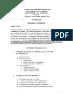 Programa Analítico - AGP - 2015 - Economia