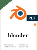 Blender Ok