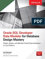 Oracle Sql Developer Data Modeler for Database design mastery - Oracle Press