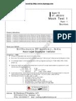 Sri Chaitanya Paper1