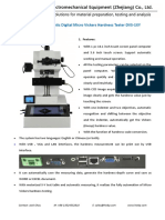 Fully automatic digital Micro vickers hardness tester for test Nitriding layer hardness DVS-1XY