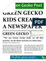 Green Gecko Post