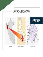 Macroubicación DIstrito Jesús Cajamarca.