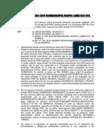 Informe Sobre Presunta Conducta Funcional Personal Jlo-2018