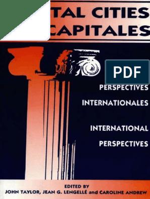 John Taylor Etc Capital Cities International Perspectives