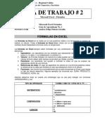 Guia No. 2 - Formulas en Excel