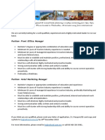 Front Office Manager & Marketing (1)
