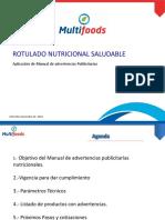 Presentacion de Estatus Para Declarar Advertencias Publicitarias de Nutrientes Modif 291118 Ff