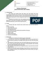 Proposal Thermal Barcode