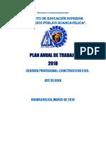 Plan Anual de Trabajo 2018