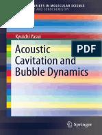 [Kyuichi Yasui (Auth.)] Acoustic Cavitation and Bu(B-ok.cc)