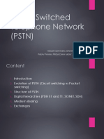 PSTN and ISDN