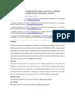 """""""CUIDADO Y CONSERVACION EN RELACION CON LA ESPECIE HIPPOCAMPUS INGENS, ARTEMIAS Y GUPPYS"""""""