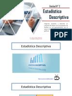Unidad 2 Estadistica Descriptiva por Bioq. José Luis Soto Velásquez