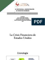 La Crisis Financiera de Estados Unidos
