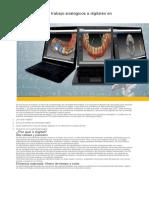 Pasar de Flujos de Trabajo Analógicos a Digitales en Odontología
