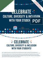 Msea Diversity Inclusion Calendar 2018 2019