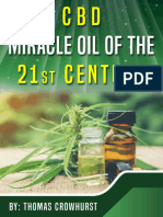 CBD Miracle Oil of the 21st Cen - Thomas Crowhurst