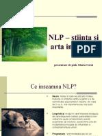 NLP – stiinta si arta pentru viata ta