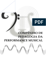 Compêndio de Pedagoga da Performance Musical