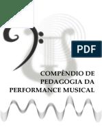 Compêndio de Pedagoga da Performance Musical