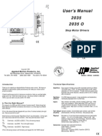 2035 Manual