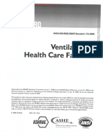 AHRI 170 - Ventilation of Health Care Facilities
