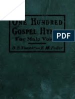 One Hundred Gospel Hymns for Male Voices
