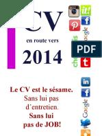 CV Et Lettre de Motivation Objectif 2014 Par