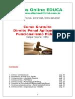 Curso Direito Penal Aplicado Ao Funcionalismo p Blico 96641