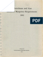 1963-Petroleum and Gas Industry Manpower Requirements