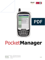 Pocket Manager. Manual de Usuario