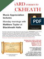 Bard at Blackheath