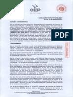 Reglamento Eleccion Oficiales Registro Civil
