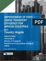 Port Cargo Transport Efficiency