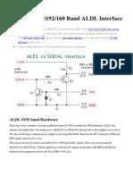 Opel & Gm - Aldl Interface