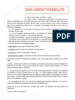 Institutions Juridictionnelles PDF